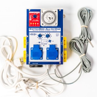 SWITCHBOX all in one - Tableau complet pour 4 lampes