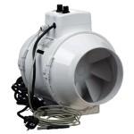 Extracteur d'air TT Ø150 avec contrôleur de température 520m3/h