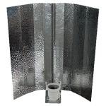 Réflecteur pour ampoules fluo-compactes CE (aluminium anodisé)